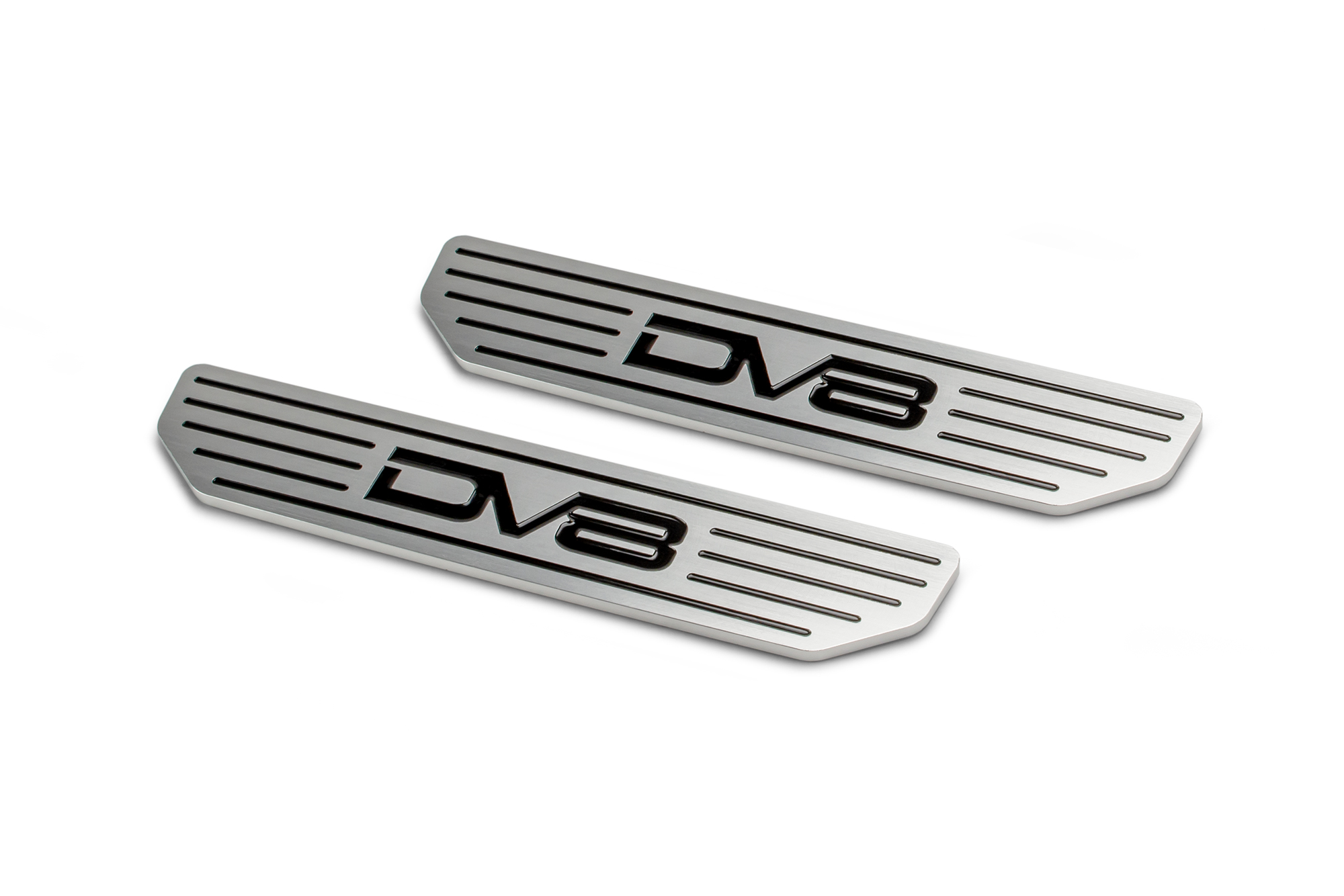 Jeep JL Front Sill Plates 18-Pres Wrangler JL with DV8 Logo 2/4 Door DV8 Offroad