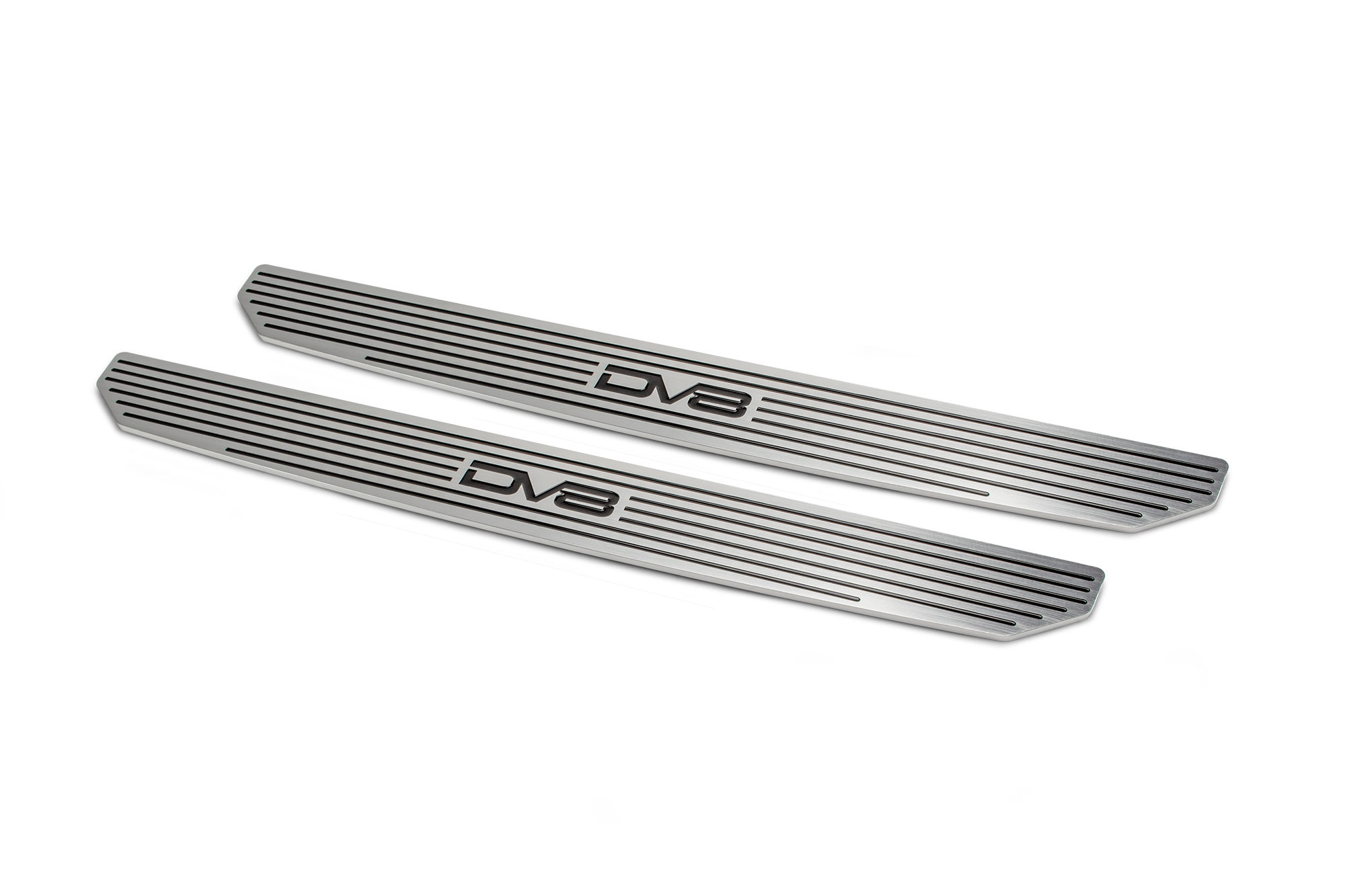 Jeep JL 4 Door Rear Sill Plates 18-Pres Wrangler JL with DV8 Logo 4 Door Only DV8 Offroad
