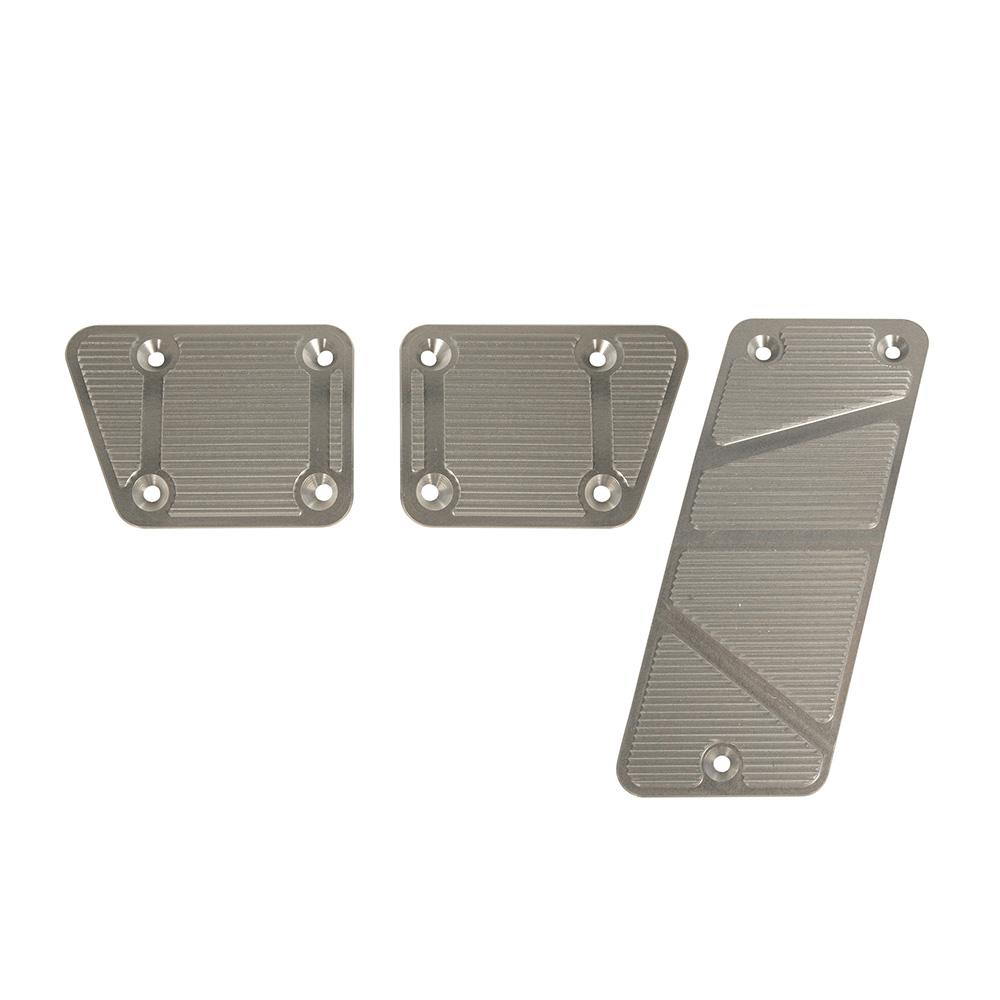 2007-13 Jeep JK Billet Pedal Covers, Manual 3 pc DV8 Offroad