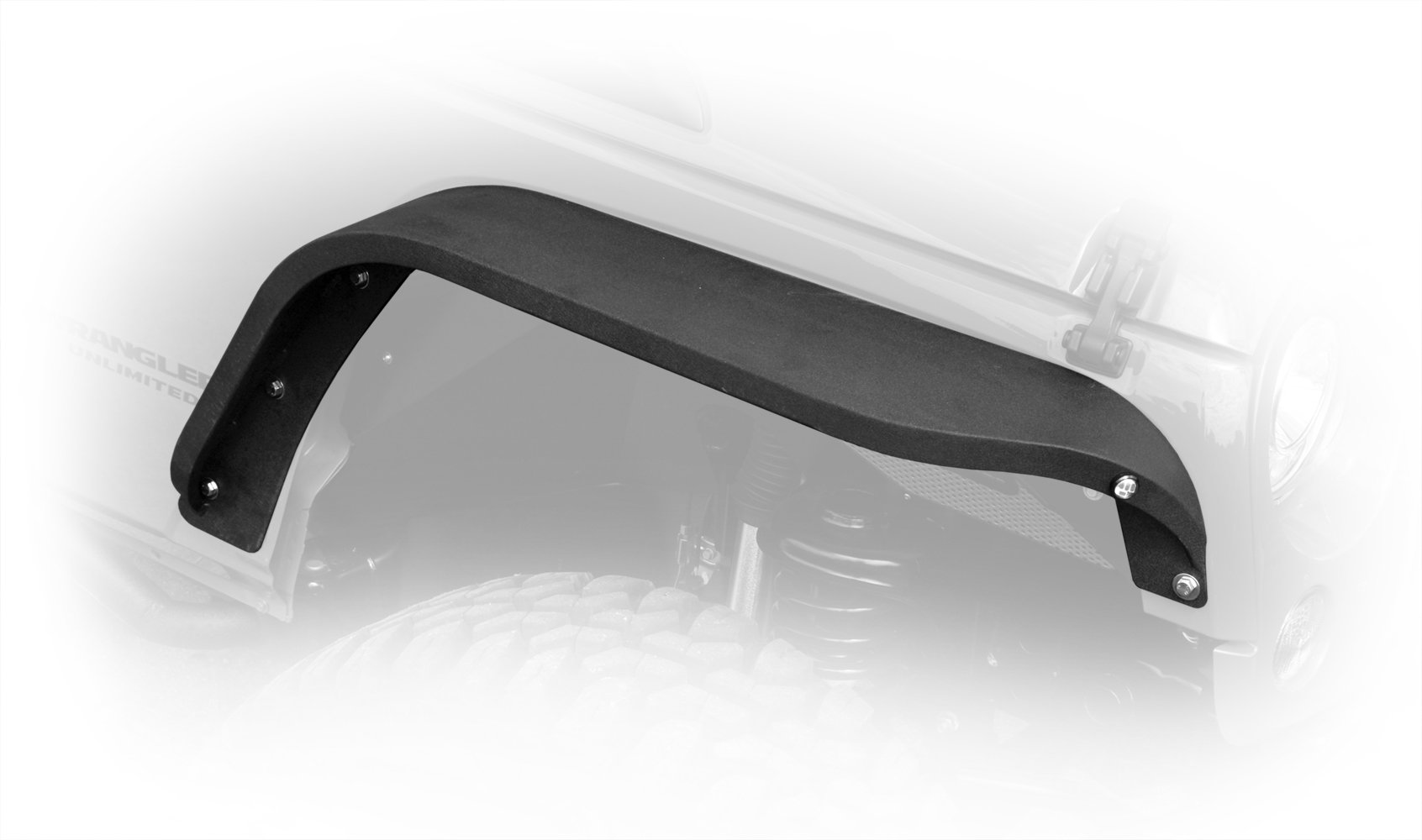 Jeep JK Slim Fenders Front and Rear 07-18 Wrangler JK DV8 Offroad