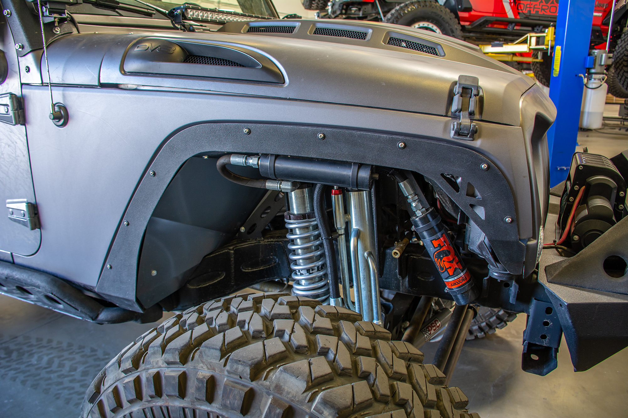 Jeep JK Fender Delete Kit (Front and Rear) 2 Door and 4 Door DV8 Offroad