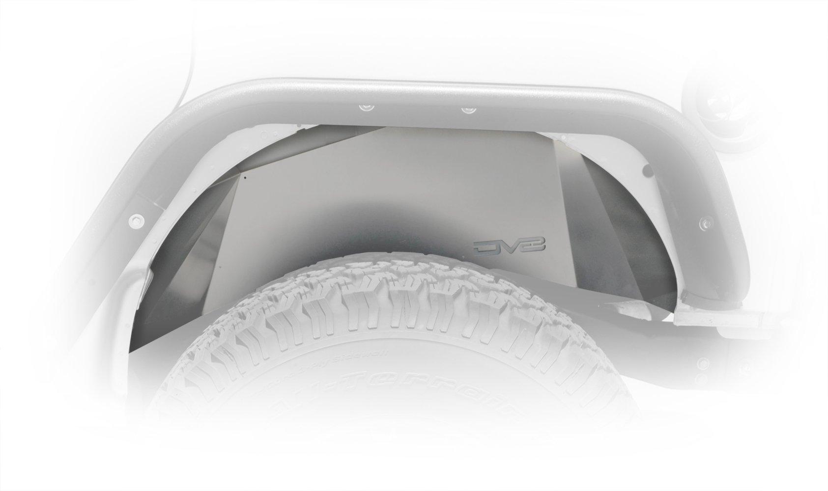 Jeep JK Inner Fender Rear Raw 07-18 Wrangler JK Aluminum DV8 Offroad