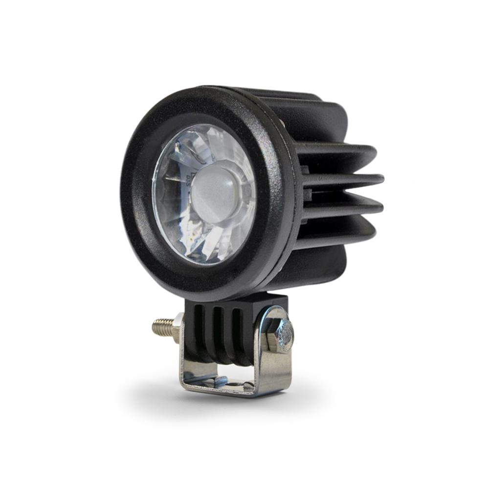 2 Inch Round 10W Off Road Light Spot 10W LED Black DV8 Offroad