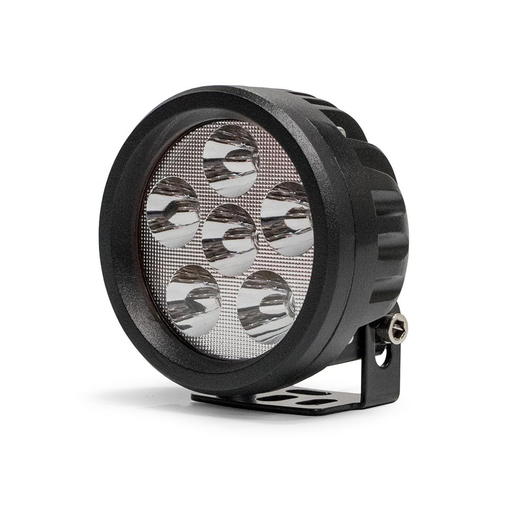 3.5 Inch Round 16W Driving Light Spot 3W LED Black DV8 Offroad