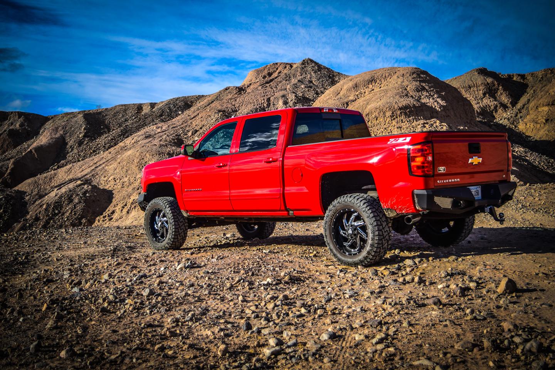 Silverado Rear Bumper 16-18 Silverado 1500 Powdercoat DV8 Offroad