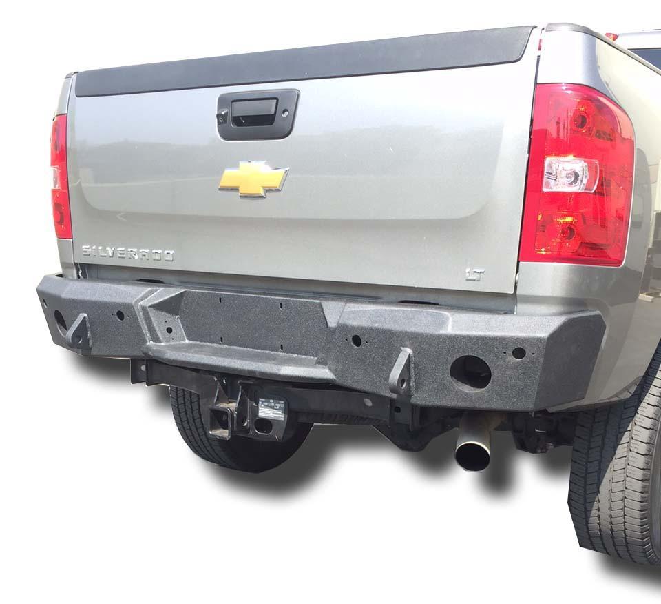 Silverado 2500 Rear Bumper 11-14 Chevy Silverado 2500 DV8 Offroad