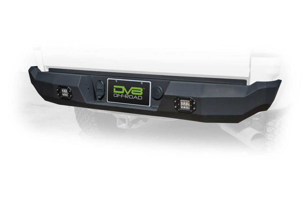 Canyon/Colorado Rear Bumper 15-Pres Steel Black Powdercoat DV8 Offroad