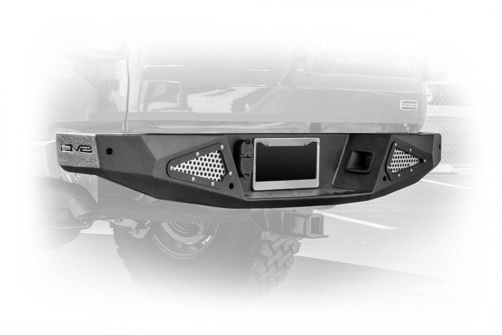 Jeep Gladiator Rear Bumper 20-Present Gladiator High Clearance Steel Powdercoat DV8 OffRoad