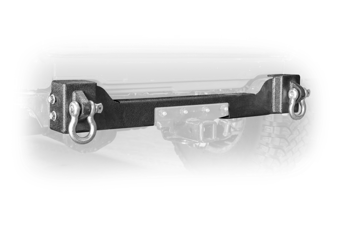 Jeep JL Rear Bumper Crossmember W/ Recovery Shackles 18-Present Wrangler JL 2/4 Door DV8 Offroad
