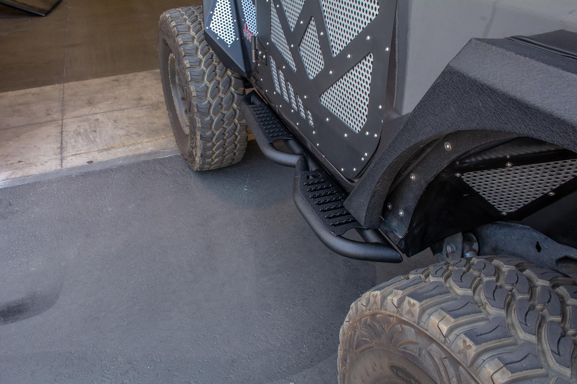 Jeep JL Tubular Slider/ Step 18-Present Jeep Wrangler JL DV8 Offroad 2 Door