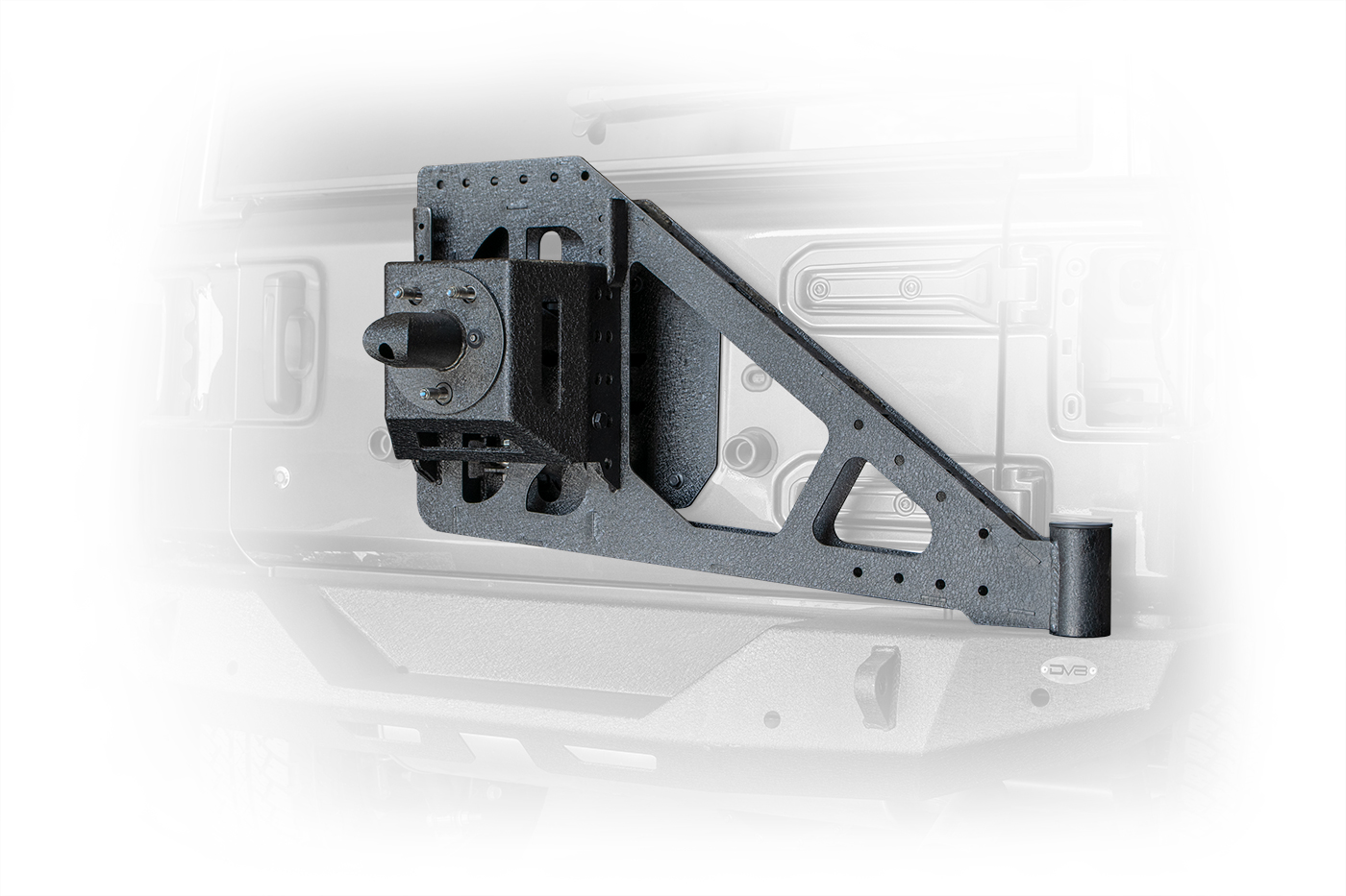 Jeep JL Tire Carrier Add On 18-Present Wrangler JL for RBJL-01 and 06 DV8 Offroad
