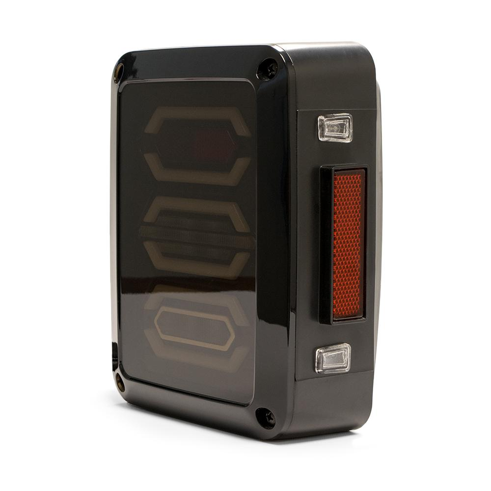 Jeep JK Octagon LED Tail Light 07-18 Wrangler JK DV8 Offroad