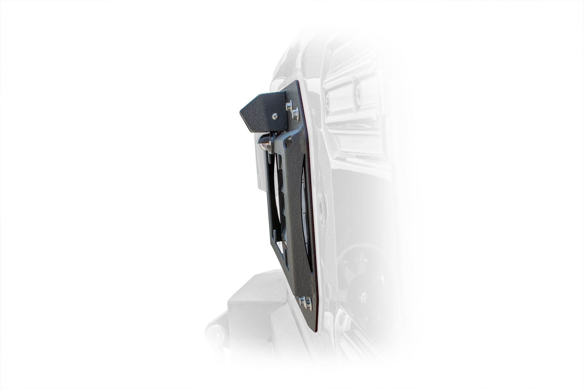 Jeep JL Spare Tire Delete with Camera Mount 18-Present Wrangler JL DV8 Offroad