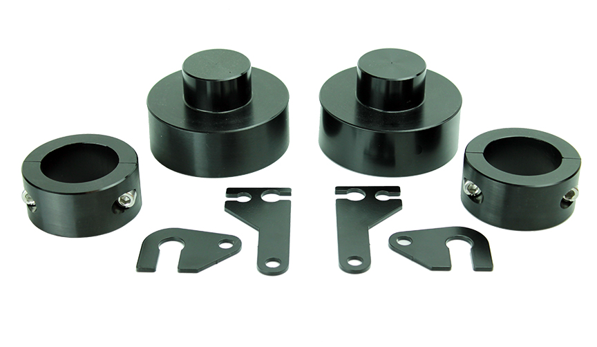 ATP 35140001 2 Inch Lift Kit Black Anodized Fits Jeep Cherokee