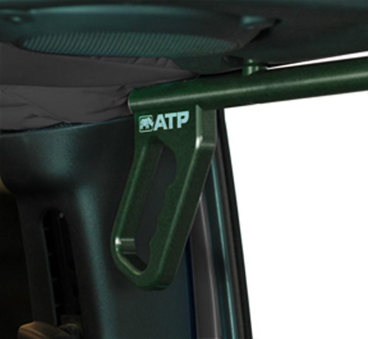 ATP 36070015G Billet Green Grab Handles Fits 07-18 Wrangler JK 2/4 Door Rear