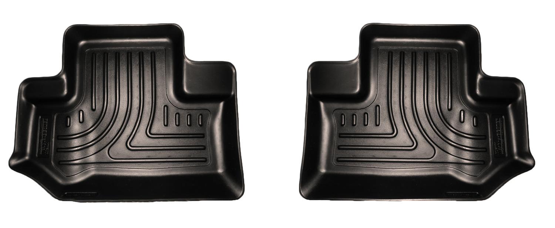 Husky Liners Weatherbeater Series Rear Floor Liner Black - JK 2dr 2011+