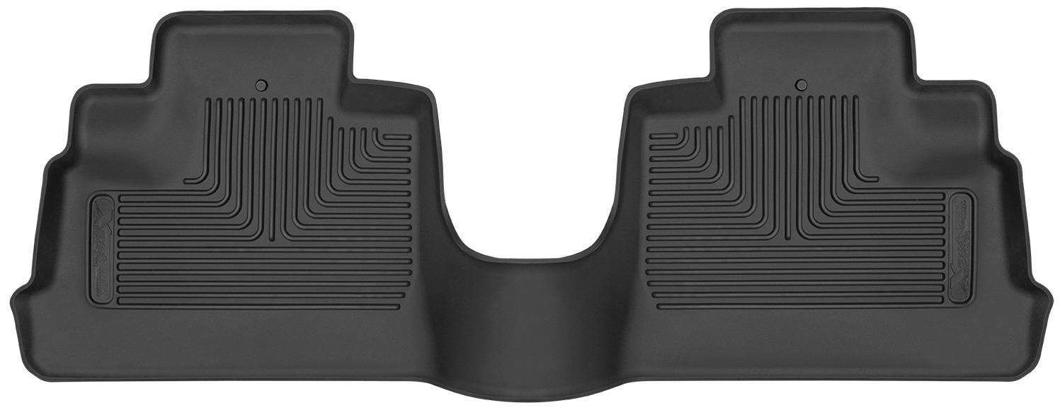 Husky Liners X-ACT 2nd Seat Floor Liner Black  - JK 4dr 2014+