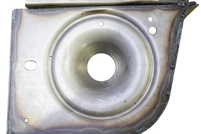 Rust Busters RB5049L Rear Coil Spring Bucket Left For 07-18 Wrangler JK Steel