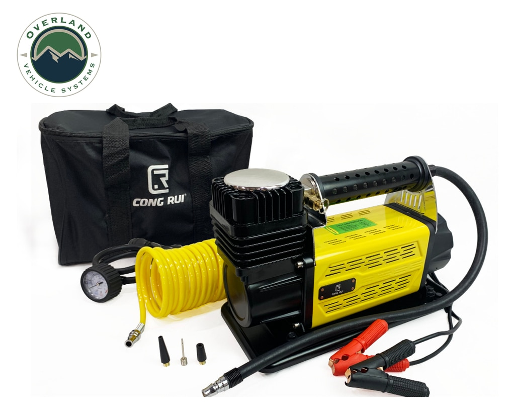 Up Down Air 12089917 Portable Air Compressor System 5.6 CFM With Storage Bag, Hose and Attachments Universal
