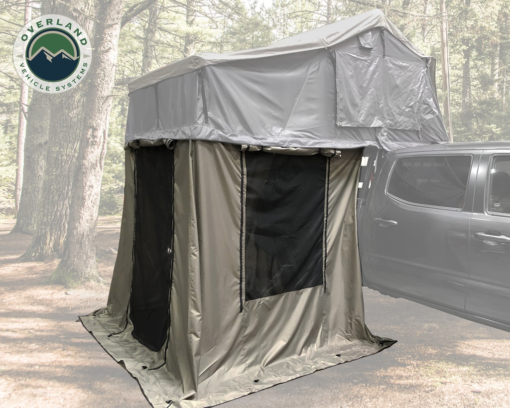 Overland Vehicle Systems Nomadic 2 Roof Top Tent Annex