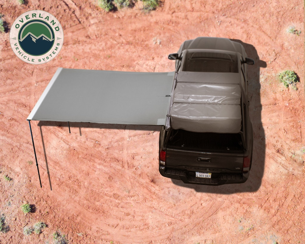 Overland Vehicle Systems Nomadic 2.0 Awning w/ Black Cover- 6.5ft