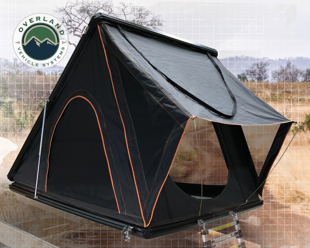 Overland Vehicle Systems Mamba III Roof Top Tent - Black