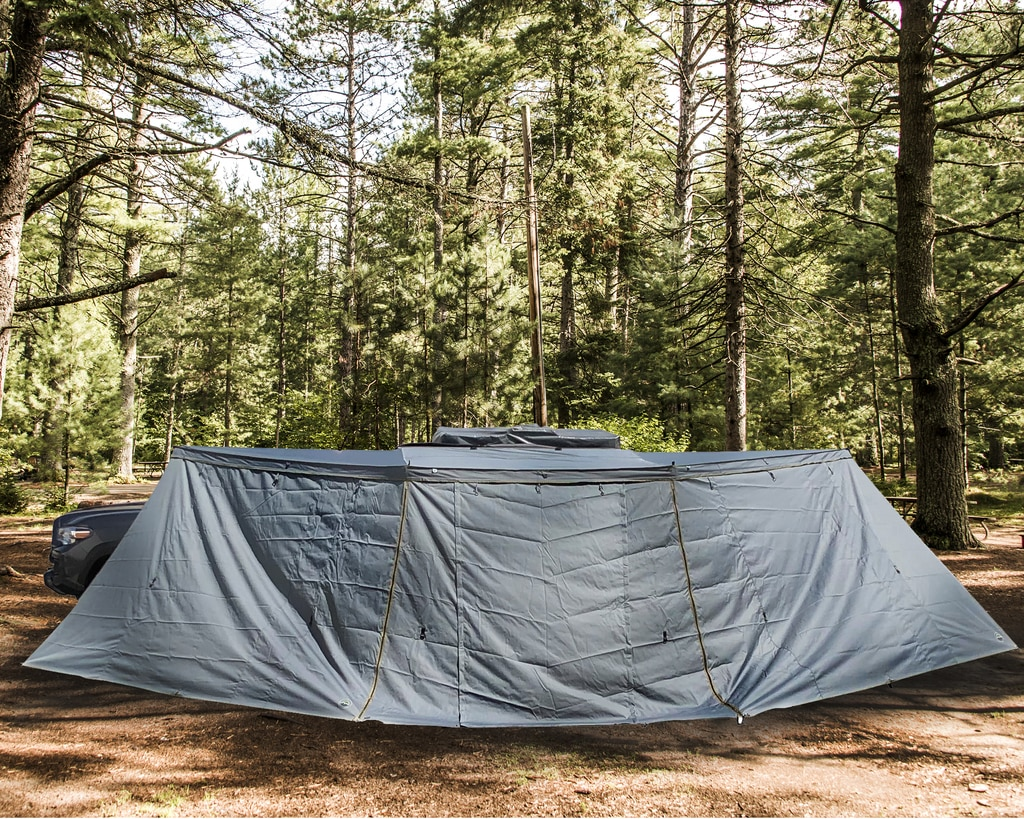 Overland Vehicle Systems Nomadic 180-Degree Awning Side Wall