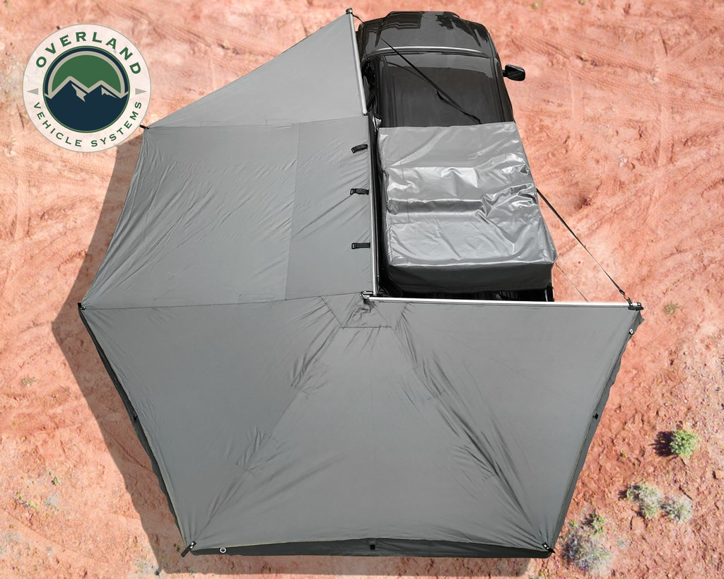 Overland Vehicle Systems Nomadic 270-Degree Awning, Driver Side Mount