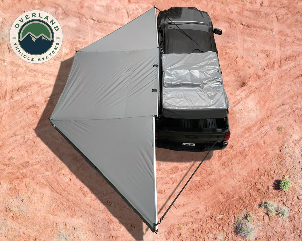 Overland Vehicle Systems 180-Degree Nomadic Awning w/Zip-in Wall