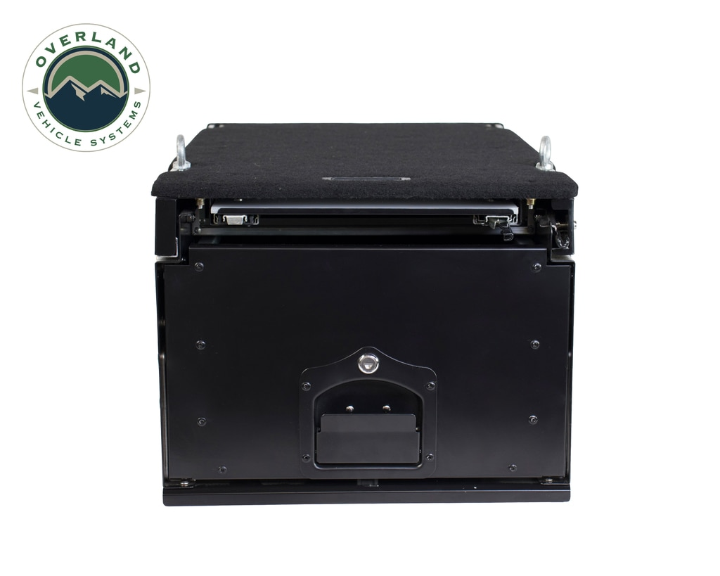 Overland Vehicle Systems Cargo Box w/Slide Out Drawer & Work Station