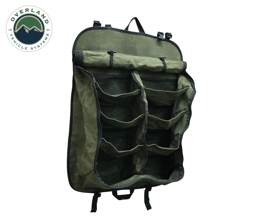 Overland Vehicle Systems Camping Storage Bag #16, Waxed Canvas
