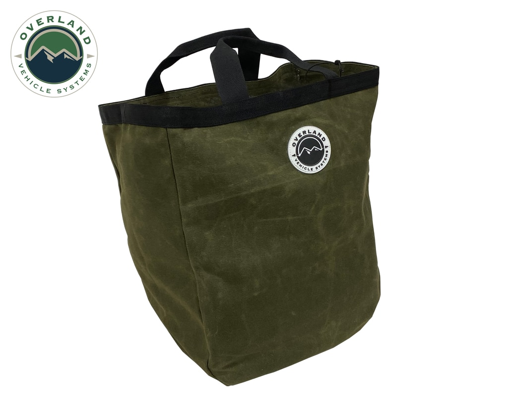 Overland Vehicle Systems Tote Bag #16, Waxed Canvas