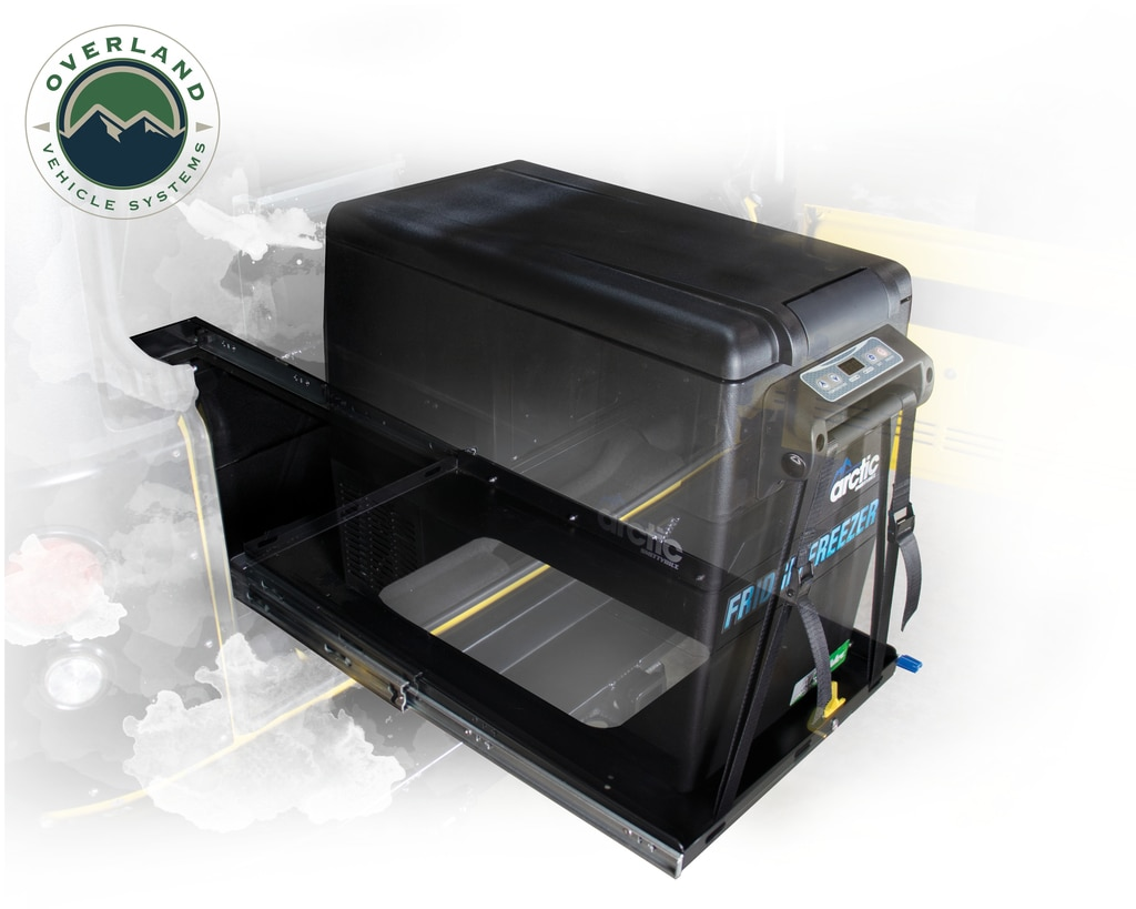 Overland Vehicle Systems Refrigerator Tray w/Slide