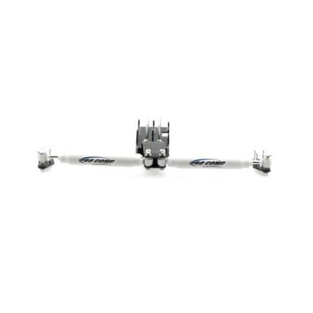 Pro Comp Dual Steering Stabilizer w/ES2000 Shocks - JK