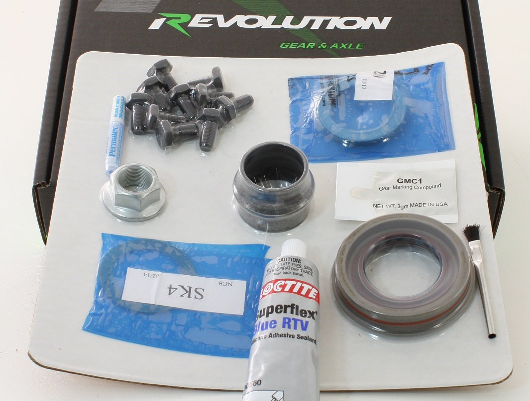 Dana 30 REV 2007-Up JK Minimum Install Kit