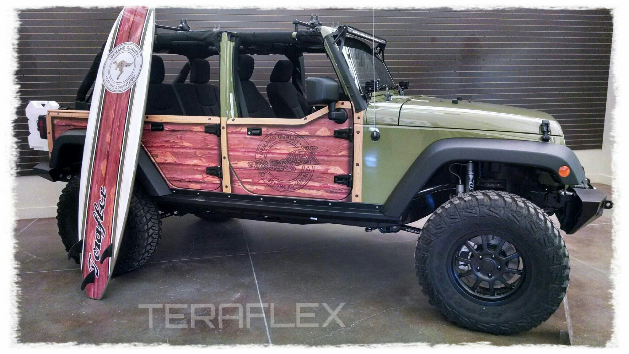 jeep jk half doors unlimited 4 door strike force zebra | asap network