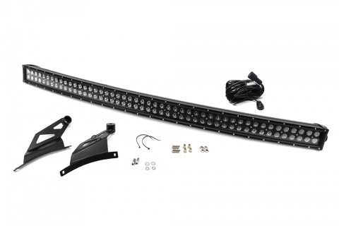 Curved LED Light Bar 50 Inch Combo Kit 09-18 F150 Raptor