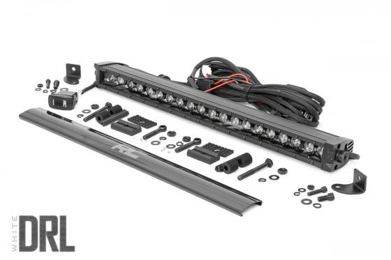 20 Inch CREE LED Light Bar Single Row Black Series w/Cool