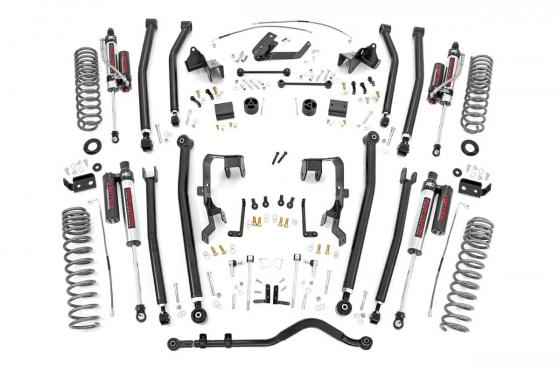 4.0 Inch Jeep Long Arm Suspension Lift Kit w/ Vertex
