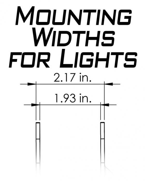JL A-Pillar Dual Led Cube Light Mount Artec Industries